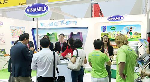 Một hoạt động xúc tiến thương mại của Vinamilk tại thị trường nước ngoài.