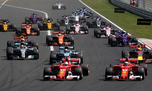 Một vòng đua của giải F1. Ảnh: Reuters