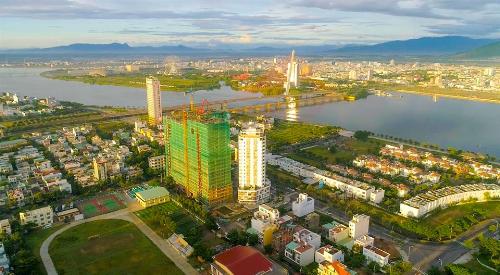 Toàn cảnh tiến độ dự án căn hộ nghỉ dưỡng Monarchy - Trần Hưng Đạo cập nhật ngày 8/11.