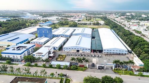 Nhà máy Nhựa Đạt Hòa tại Bình Dương.