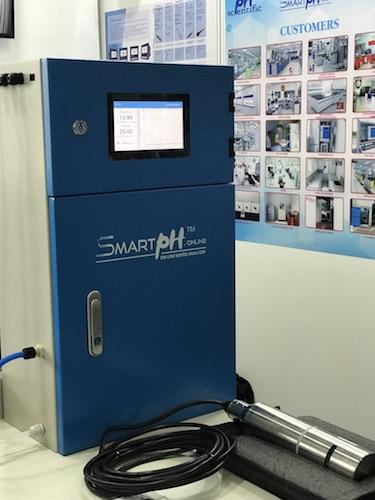 Sản phẩm SmartpH có thiết kế chú trọng, độ chính xác cao đi kèm chính sách bán hàng phù hợp với các doanh nghiệp Việt.