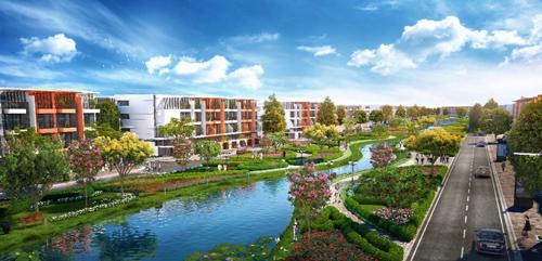 River Silk City Hà Nam khánh thành hạ tầng kỹ thuật - ảnh 1