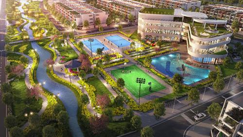 River Silk City Hà Nam khánh thành hạ tầng kỹ thuật - ảnh 2
