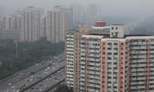 Các tòa chung cư tại Bắc Kinh (Trung Quốc). Ảnh: Reuters