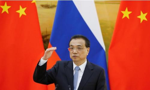 Thủ tướng Trung Quốc - Lý Khắc Cường trong một cuộc họp báo tuần trước. Ảnh: Reuters