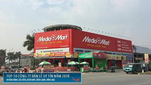 MediaMart hiện có 95 siêu thị trên cả nước.