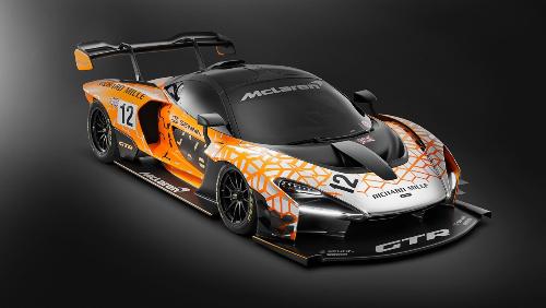 McLaren Senna GTR Concept - nguồn cảm hứng dành cho RM11-03 McLaren