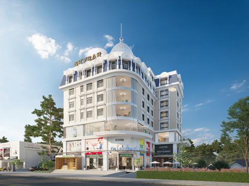 Phối cảnh dự án Đà Lạt Travel Mall. Hotline: 0868 5657 79 Website:www.dalattravelmall.vn