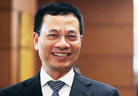 Ông Nguyễn Mạnh Hùng, Bộ trưởng Thông tin & Truyền thông. Ảnh: Võ Hải