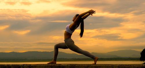 Dự án cao cấp xây dựng sân tập yoga trên nóc tòa nhà