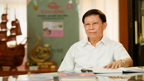 Ông Bùi Đức Thịnh - Chủ tịch Hội đồng Quản trị Công ty CP May Sông Hồng.