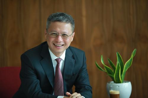 Ông Nguyễn Lê Quốc Anh, Tổng giám đốc Ngân hàng Techcombank.