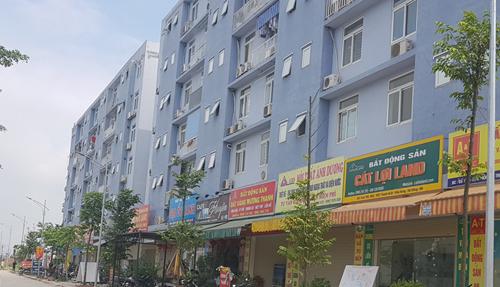 Một dự án nhà giá rẻ tại Hà Nội. Ảnh: N.H