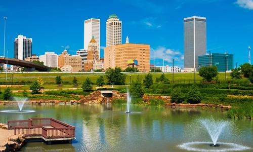 Thành phố Tulsa (Oklahoma) đang lên kế hoạch thu hút nhân tài. Ảnh: AFP