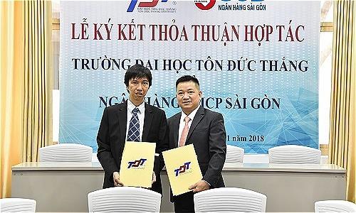 SCB ký kết hợp tác với Đại học Tôn Đức Thắng