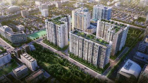 Bất động sản quận Tân Bình hưởng lợi từ hạ tầng - 1