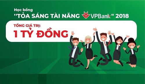 Không chỉ giá trị học bổng lớn mà các bạn sinh viên còn có cơ hội về việc làm tại VPBank sau khi ra trường.