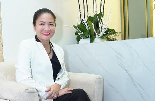 Bà Trịnh Thị Thanh Nhàn, CEO của Công ty CP Tư vấn Đầu tư Quốc tế NVS.