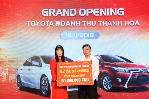 Khai trương Đại lý thứ 54 của Toyota Việt Nam Toyota Doanh Thu Thanh Hóa (xin bài edit) - 4