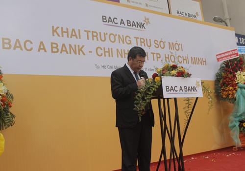 ông Võ Văn Quang - Phó tổng giám đốc ngân hàng Bắc Á