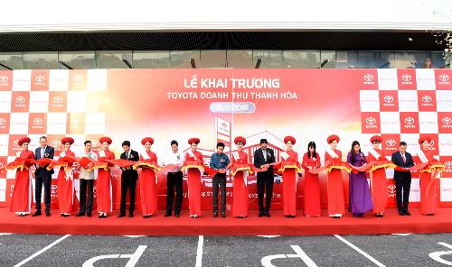 Khai trương Đại lý thứ 54 của Toyota Việt Nam Toyota Doanh Thu Thanh Hóa (xin bài edit)