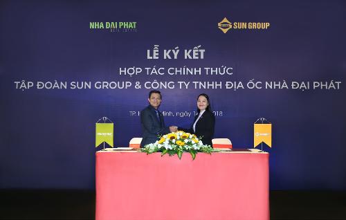 Tập đoàn Sun Group ký kết hợp tác với Nhà Đại Phát