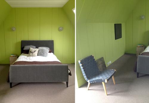 Nhiều người lựa chọn bài trí một vài món đồ nội thất đơn giản.