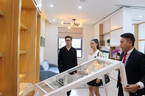 Saigon Intela có mức giá từ 1,2 tỷ đồng/căn hộ (2 phòng ngủ, 2 WC) và được thiết kế theo mô hình căn hộ thông minh.