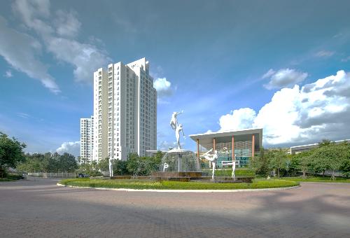 Ciputra Hanoi rộng 300 héc-ta, sở hữu Tổ hợp ẩm thực, thể thao và giải trí - Ciputra Club.