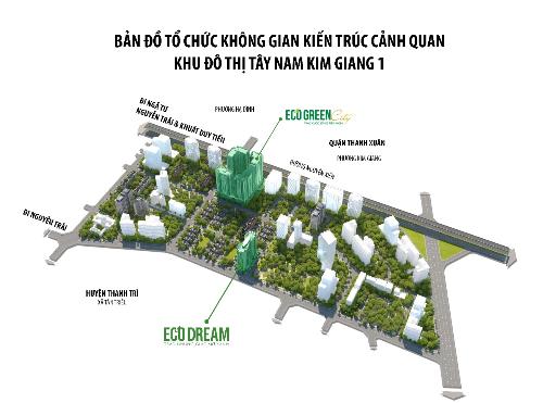 Eco Dreamcó nhiều tiện ích ngoại khu.
