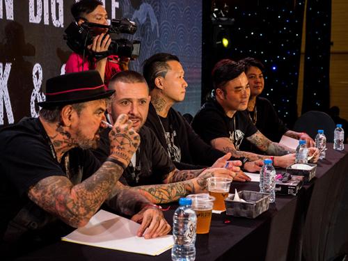 Ban giám khảo cuộc thi.