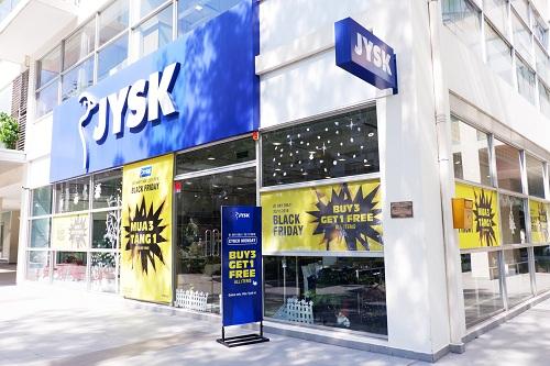 Chuỗi cửa hàng JYSK đã sẵn sàng cho ngày hội mua sắm Black Friday.