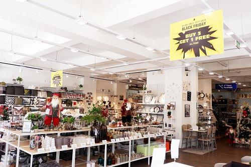 Gần 2.000 sản phẩm với phong cách Bắc Âu được bày bán tại cửa hàng JYSK.