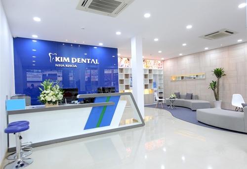 Phòng khám Nha khoa Kim khang trang, tiện lợi cho khách hàng.