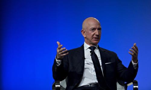 Ông chủ Amazon - Jeff Bezos. Ảnh: Bloomberg