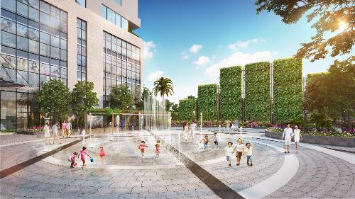 Phối cảnh minh họa dự án Rivera Park Hà Nội