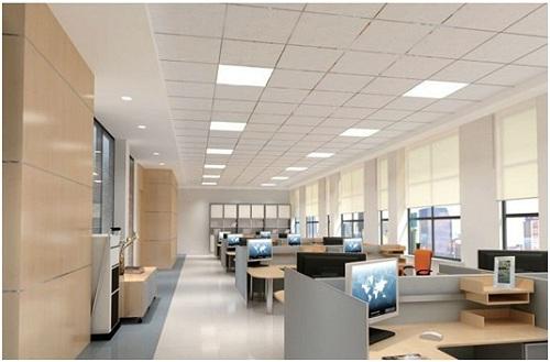 Đèn Led downlight âm trần - giải pháp chiếu sáng cho không gian làm việc hiệu quả.