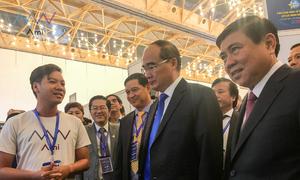 Top 5 Startup Việt 2018 dự triển lãm Diễn đàn Kinh tế TP HCM