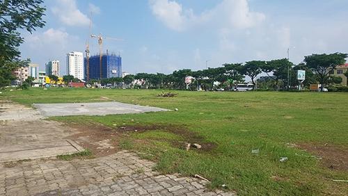 Lô đất mặt tiền đường Võ Văn Kiệt vừa bị huỷ kết quả đấu giá. Ảnh: Vipico