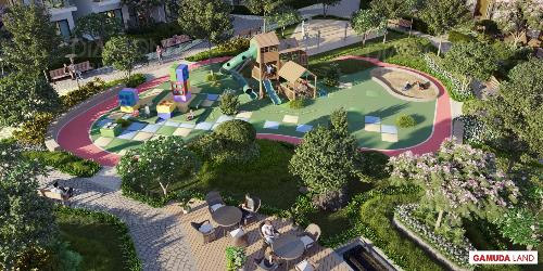 Công viên nội khu và tiện ích 4 hecta dành riêng cho cư dân Diamond Brilliant.