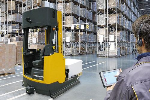 Hệ thống quản lý nhà kho WMS - Warehouse Management System.