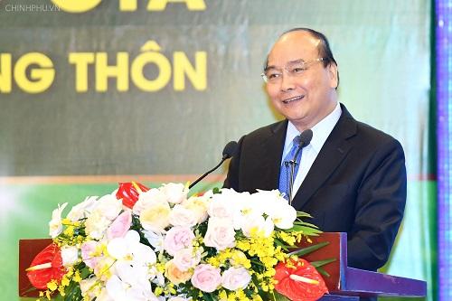Thủ tướng Nguyễn Xuân Phúc tại sự kiện ngày 27/11. Ảnh: VGP
