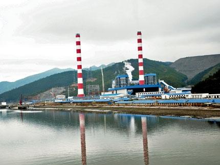Nhà máy nhiệt điện Quảng Ninh. Ảnh: Báo Quảng Ninh
