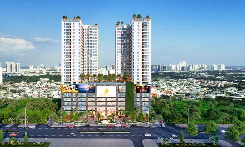 Central Premium Mall có quy mô 6 tầng và 2 tầng hầm tạidự án Central Premium.