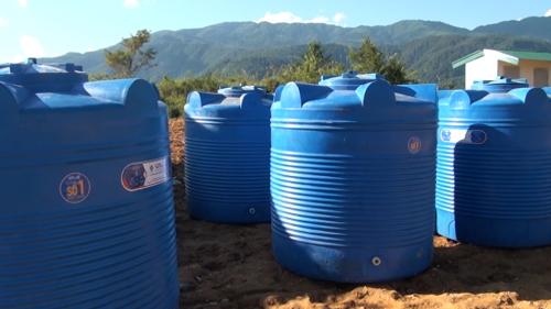 Tân Á Đại Thành tặng 5 bồn nước cho trường mầm non ở Lai Châu - 2