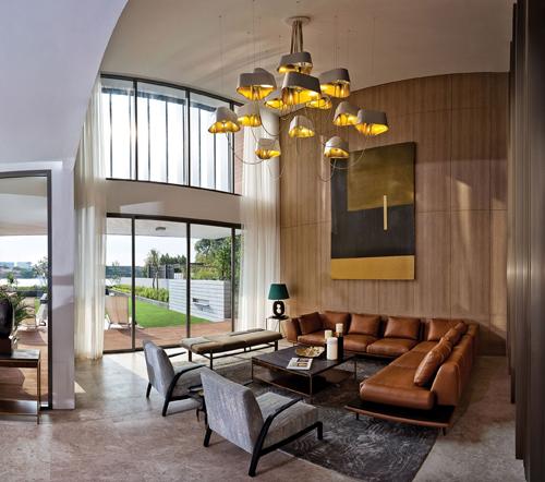 Biệt thự Holm Residences hướng đến đối tượng khách hàng thượng lưu, ưa chuộng lối sống ven sông yên tĩnh.