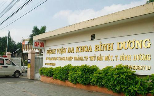 Bệnh viện Đa khoa tỉnh Bình Dương. Ảnh: UBND tỉnh Bình Dương