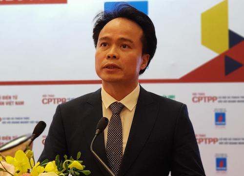 Ông Ngô Chung Khanh  Phó Vụ trưởng Vụ Chính sách thương mại đa biên (Bộ Công Thương). Ảnh: HT
