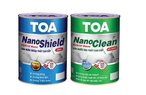 Bộ đôi sản phẩm TOA NanoShield, TOA NanoClean.
