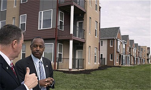Một khu nhà ở Ohio (Mỹ). Ảnh: New York Times